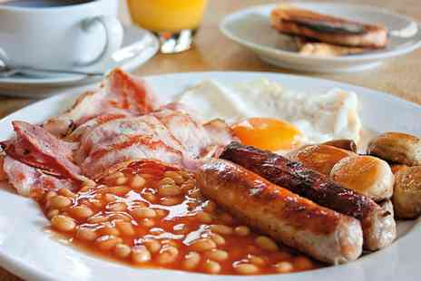 The Jette - Full English Breakfast and Glass of Orange Juice for Two - Save 0%