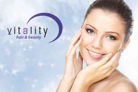 Vitality - N Lite Laser Face Treatment for £69 - Save 77%