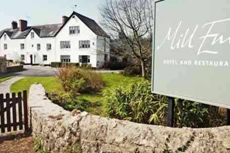 Mill End Hotel - Dartmoor Lunch for 2 at 2 AA Rosette Venue - Save 40%