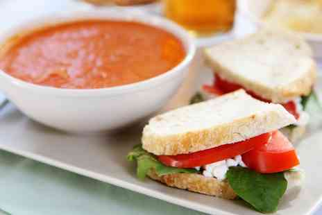 College Lake Environmental - Soup and Sandwich for Two - Save 0%