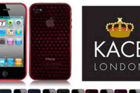Kace London - Get on the case �Kace London gel case for an iPhone 4 - Save 62%