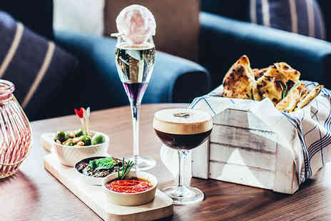 Central Oven & Shaker - Cocktail each and a dip n dough sharing board and additional dip for two - Save 50%