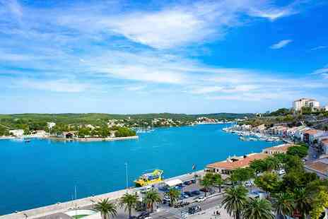 Worldwide Tours & Travel - Three night Menorca break with flights - Save 52%