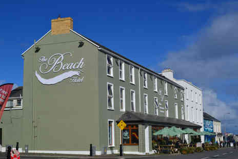 The Beach Hotel - Mullaghmore break for two, with breakfast and late checkout, or three nights - Save 0%