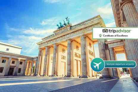 Cheap Cost Holidays - Two or three night 4 Star Berlin break including flights - Save 57%