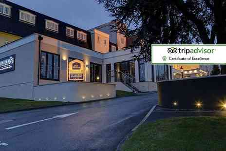Best Western Premier Yew Lodge Hotel - Overnight 4 Star Derby spa stay for two with dinner - Save 47%