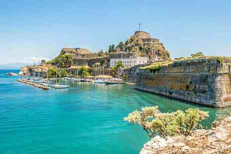 ClearSky Holidays - Three, five or seven night all inclusive Corfu escape with flights - Save 24%