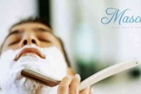 Maschio - One Hour Full Body Massage For Men With Cut Throat Wet Shave - Save 72%