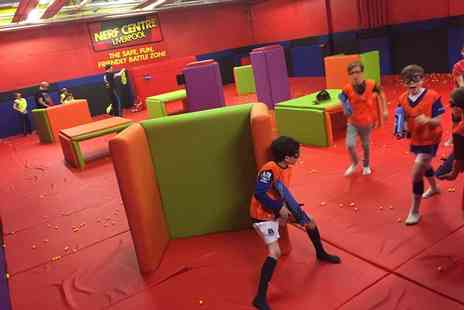 Nerf Centre - One hour Nerf session for two - Save 40%