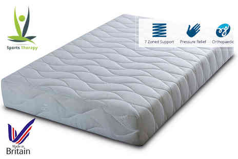 Cheap Mattresses - Sports therapy seven zone memory foam mattress - Save 79%