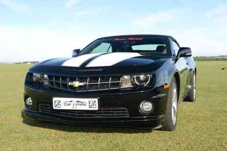 Supercar Test Drives - Weekday or weekend three lap Chevrolet Camaro driving experience - Save 0%
