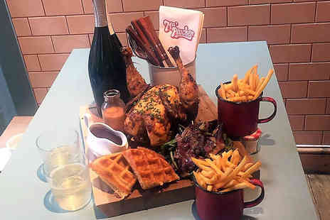 Ma Plucker - Chicken Brunch with Unlimited Prosecco for Two - Save 0%