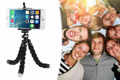 TigerZilla Trading - TigerZilla Mini Tripod Stand with Camera Mount Grip Holder - Save 50%