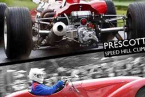 Prescott Speed Hill Climb - Two Adult Passes to La Vie En Bleu Bugatti French Car Festival - Save 60%