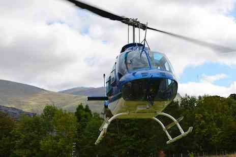 Whizzard Helicopters - Helicopter Buzz Flight for One or Two - Save 45%
