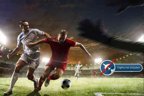 Independent World Choice Holidays - Two night European city stay and ticket to football match - Save 0%