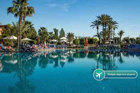 Weekender Breaks - Two Three or four night 4 Star all inclusive Marrakech break with flights and transfers - Save 35%