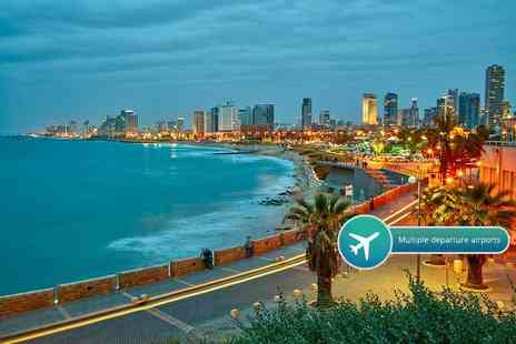 Crystal Travel - Four or Seven night 4 Star Tel Aviv break with direct flights - Save 23%