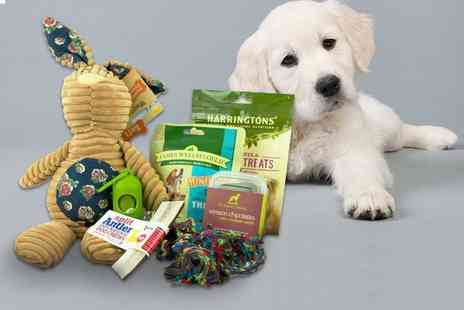 The Hound Haus - Dog treat box including healthy treats, toys and accessories - Save 35%