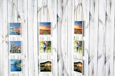 Your Perfect Canvas - Three piece hanging retro style photo - Save 77%