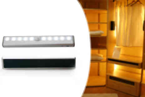 TigerZilla Trading - Motion Sensor Wardrobe LED Lamp - Save 0%