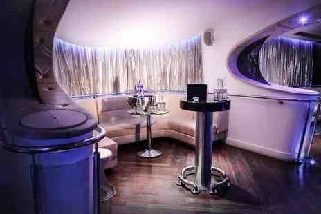 Cruise Chester - Nightclub Booth Hire with Four Bottles of Spirit for 10 - Save 38%