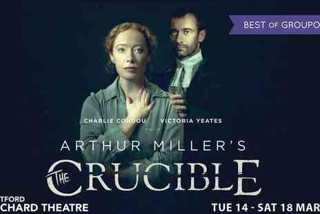 The Orchard Theatre - Tickets to The Crucible at The Orchard Theatre on 14 to 18 March - Save 59%