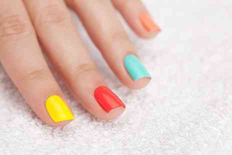 Beauty Woman Salon - Shellac Manicure or Pedicure, or Both - Save 66%