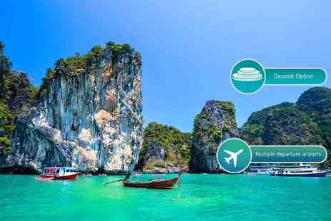Weekender Breaks - Seven or 14 night 4 Star Phuket, Thailand break with flights - Save 21%