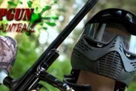 Topgun Paintball - Paintballing For Two With 100 Paintballs Each - Save 83%