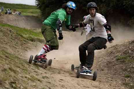 Hales Superbole - Beginners mountain board experience including one hour of tuition and two hours of free time - Save 52%