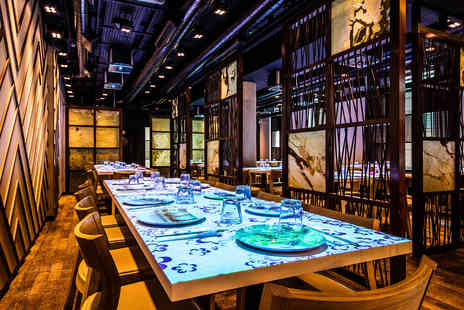 Inamo - Interactive Pan Asian Tasting Menu with Fizz for Two - Save 0%
