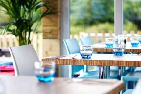 Nannycover - Riverside 2 Course Lunch & Wine for 2 - Save 44%