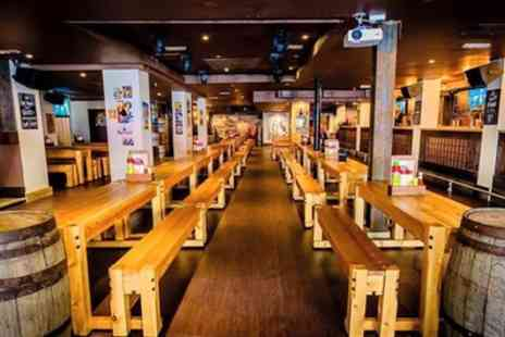 Bierkeller Nuneaton - Stein and Wurst Package with Dedicated Waitress Service for Up to Four - Save 31%