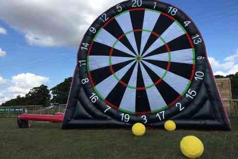 Zorb Strike - Session of footdarts And footpool for four - Save 51%