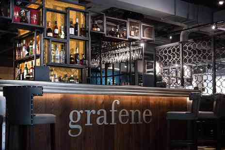 Grafene - Seven course tasting menu for two with a glass of Prosecco each - Save 45%