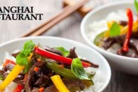 Shanghai Restaurant - Two Course Chinese Meal For Two - Save 53%