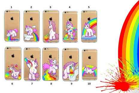 London Exchain Store - Quirky unicorn iPhone case choose from ten cute designs - Save 60%