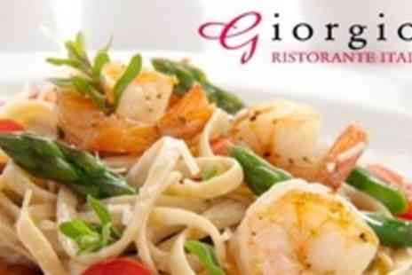 Giorgios Ristorante Italiano - Italian Dining For Two - Save 65%