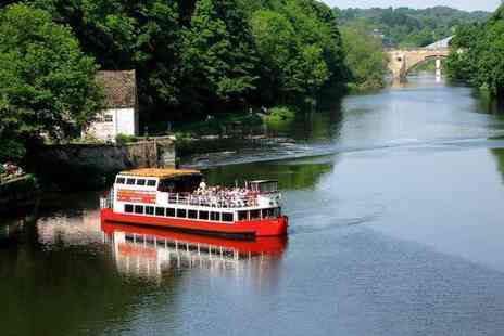 Prince Bishop River Cruiser - One hour Durham sightseeing cruise for two - Save 50%