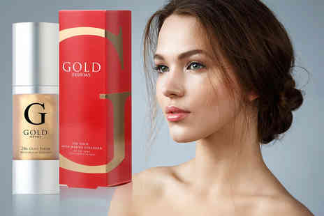 Gold Serums - 24K gold marine anti ageing collagen face serum - Save 91%
