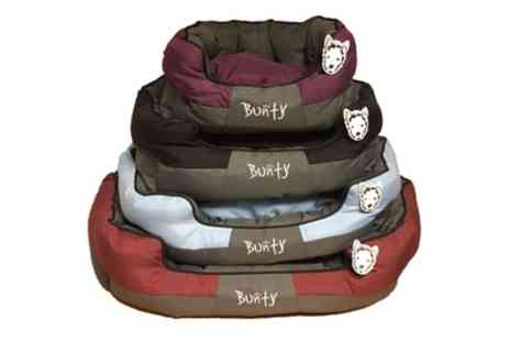 Groupon Goods Global GmbH - Bunty Anchor Waterproof Hard Wearing Dog Bed in Choice of Size and Colour - Save 19%