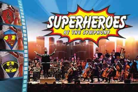 Raymond Gubbay - Tickets to Superheroes At The Symphony on 12 March - Save 35%