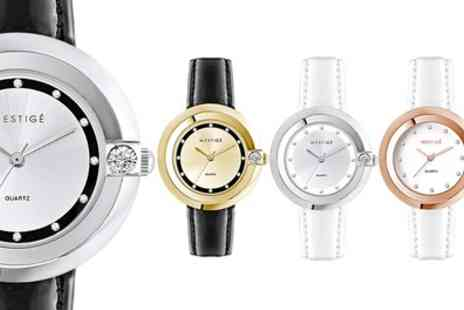 neverland sales - The Jetsetter Watch with Crystals from Swarovski With Free Delivery - Save 79%