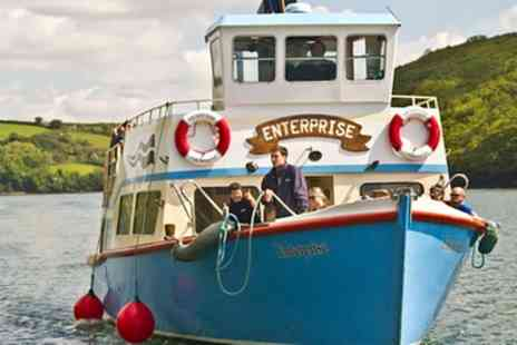 Enterprise Boats - Scenic Cornwall River Cruise Between Truro and Falmouth for Two - Save 50%