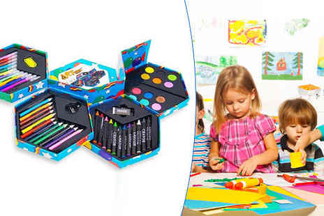 TLD Marketing - Childrens 52 Piece Craft Stationery Box - Save 65%
