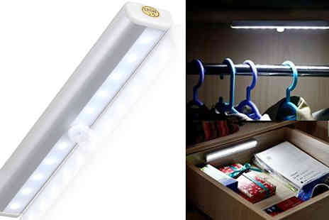 TigerZilla Trading - Wireless Motion Sensor Led Wardrobe Lights - Save 59%