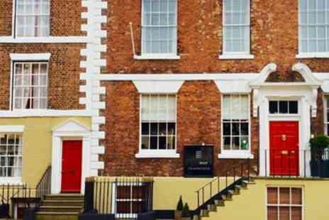 The Bridge Street Townhouse -Two Night Cheshire Stay with Breakfast - Save 0%