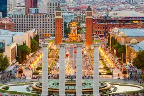 ClearSky Holidays - Two night 4 Star Barcelona break including flights, or stay for three nights - Save 25%