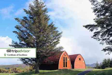 Wild Atlantic Camp - Two night family glamping break for up to two adults and two children - Save 51%
